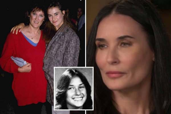 Demi Moore reveals she was raped at 15 by perv who paid her alcoholic mother £400