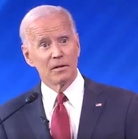 Joe Biden looked shocked when his memory was called into question during Thursday's TV debate