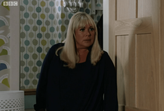 Sharon had a furious showdown with Mel over the funeral