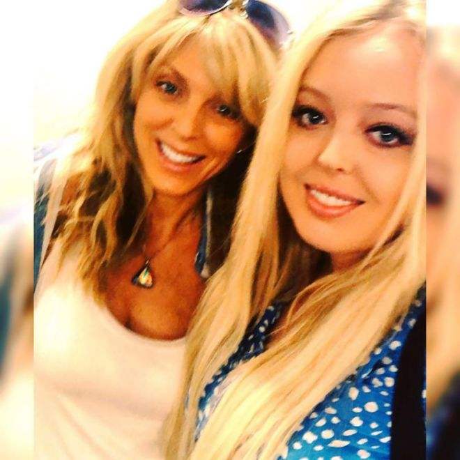 Marla Maples shared this selfie with her beloved daughter Tiffany