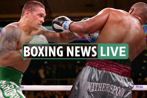 Boxing news LIVE - Latest gossip and updates