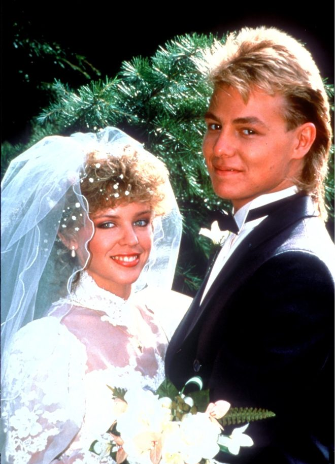 Donovan's character married Kylie Minogue on Neighbours