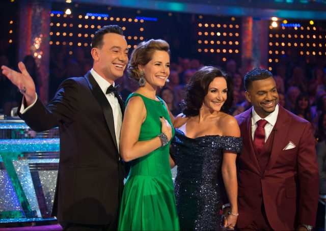 Alfonso Ribeiro (far right) has previously stood in for Bruno on the show