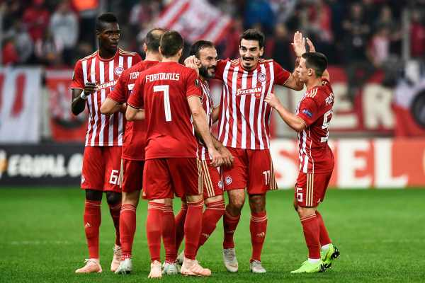 Latest updates from Champions League game in Piraeus