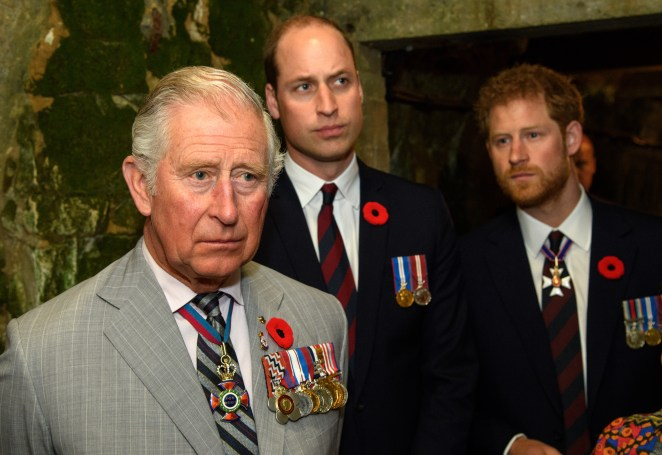Prince Charles is 'furious' about the feud developing between Prince Harry and the rest of the Royal Family