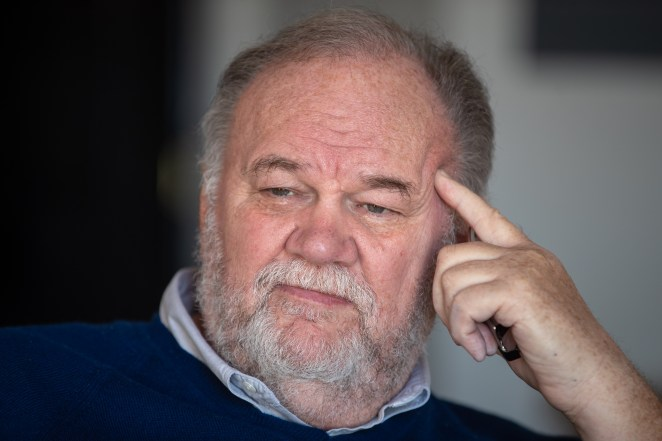 The action is based around a letter written to Meghan's father Thomas Markle