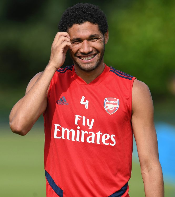 Egypt midfielder Mohamed Elneny is on loan with Besitkas for the season but reportedly being eyed by AC Milan
