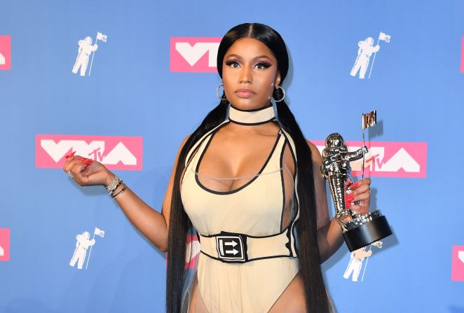 Nicki Minaj married her bad-boy boyfriend Kenneth Petty on Monday and shocked fans by announcing her real name