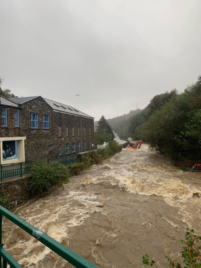 A major incident has been declared on the Isle of Man today amid severe flooding