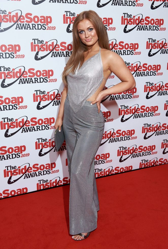 Maisie Smith sparkled in silver