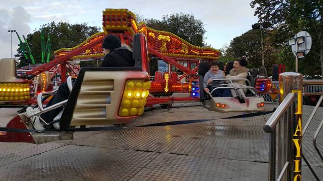 The teen was on the Sizzler at the time of the horror