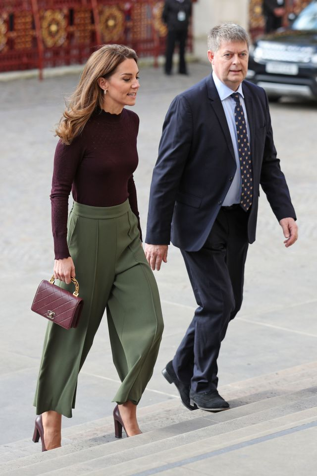 Kate Middleton stuns as she arrives at the Natural History Museum today