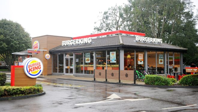 This is the Burger King in Hamps. that Ms Simms was told she couldn't return to