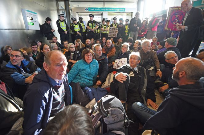 Extinction Rebellion are trying to shut down the airport