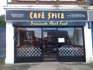 Cafe Spice uses high-quality ingredients in their dishes