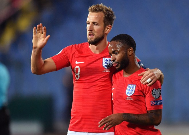 Raheem Sterling bagged a brace in another classy performance for his country
