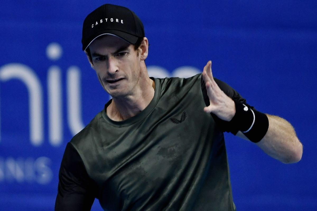 Andy Murray makes European Open second round but could quit if wife Kim gives birth