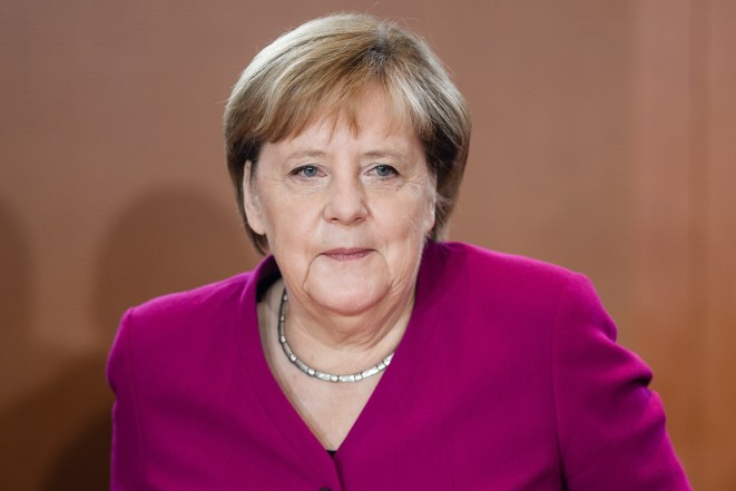Germany's Angela Merkel declared the talks were in the 'final metres'