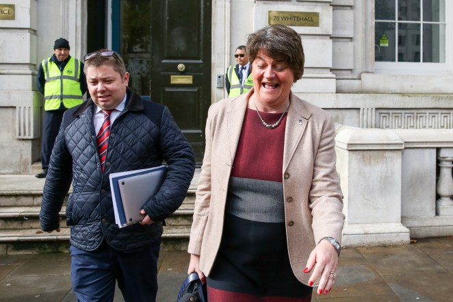 Despite hours of talks, Boris Johnson was unable to convince Arlene Foster to back his plan