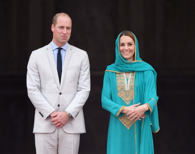 Meanwhile the Duke and Duchess of Cambridge have been on a royal tour of Pakistan