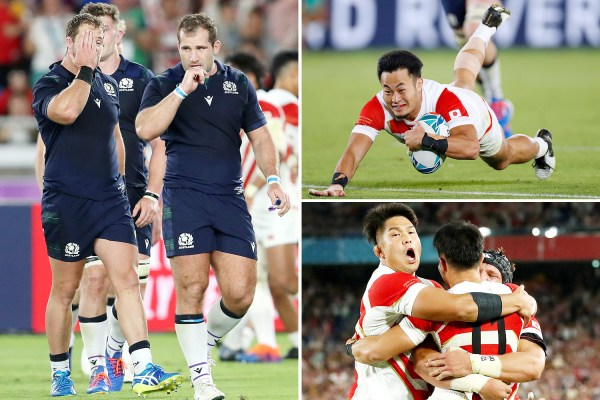 Japan vs Scotland LIVE: Follow for all the latest action from Yokohama
