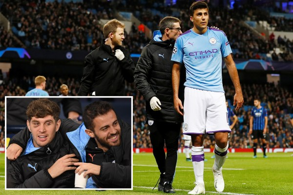 Guardiola slams John Stones for not being ready to come on as Rodri limps off against Atalanta
