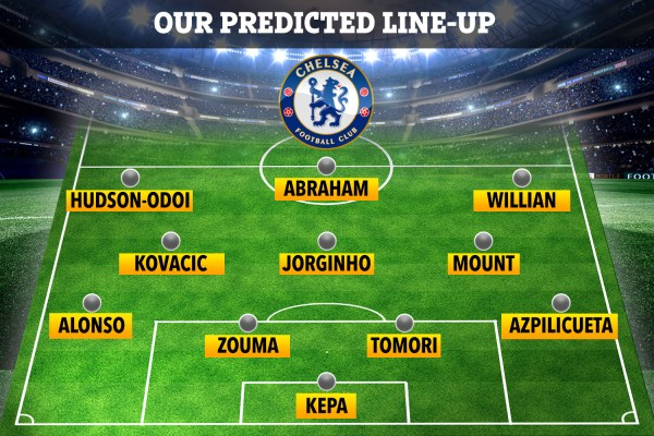 How Chelsea will line-up at Ajax without injured Barkley and Kante