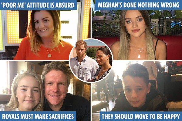 Prince Harry and Meghan ditched the stiff upper lip - but were they right to do so? Sun parents and kids wade in