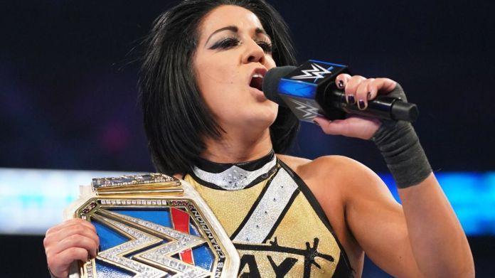 Watch WWE star Bayley's new entrance after her shock heel turn left fans in  tears