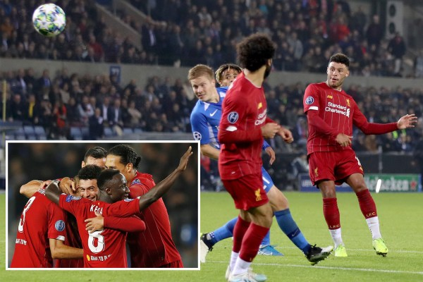 Genk 1 Liverpool 4: Oxlade-Chamberlain scores twice to steal the show on return to Champions League after 18 months