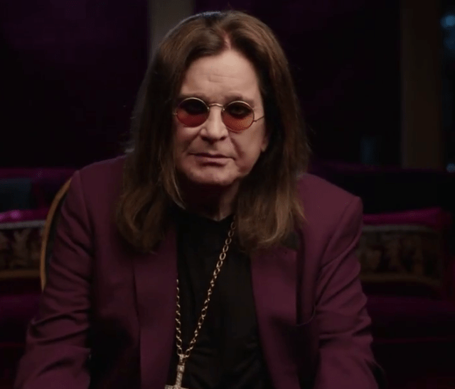 Ozzy shared a video to set the record straight