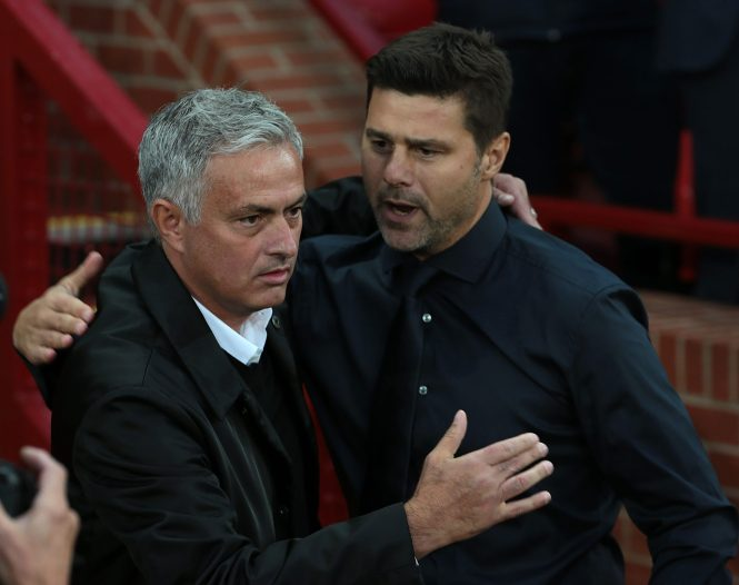 Mourinho is now in the Tottenham hot seat replacing Mauricio Pochettino