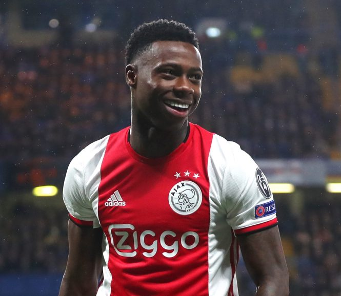 Ajax star Quincy Promes opened the door to a potential transfer to the Premier League, alerting interested clubs