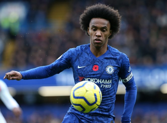Willian is said to have been offered to Real Madrid as a free agent next summer