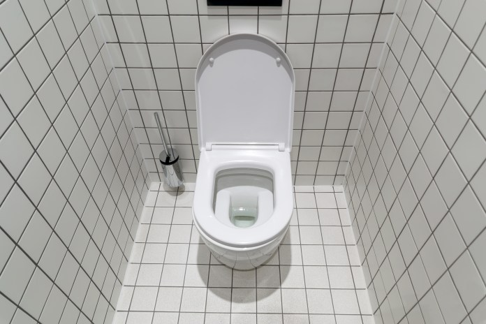 Most toilet seats in homes form a complete circle