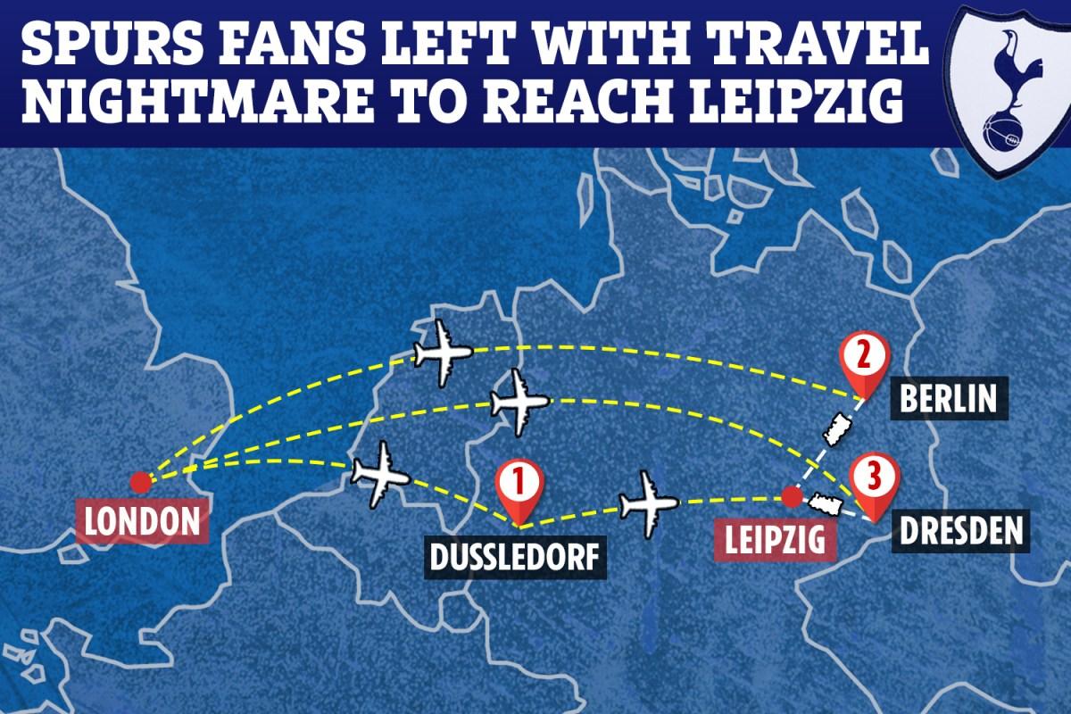 Tottenham Rb Leipzig