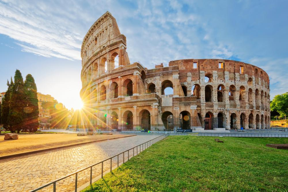 The Colosseum is the number one tourist landmark in the world