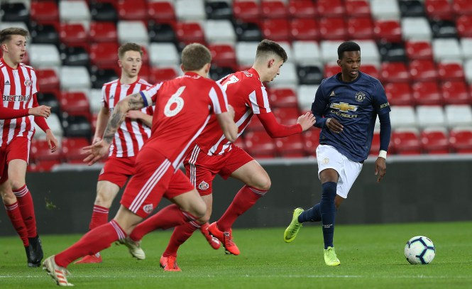 Bohui is now with Dutch side NAC Breda but has ambitions of coming back to Old Trafford