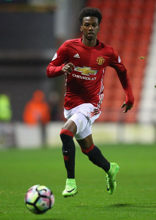 Joshua Bohui hit out at Jose Mourinho for the way the Special One treated him during their time together at Manchester United