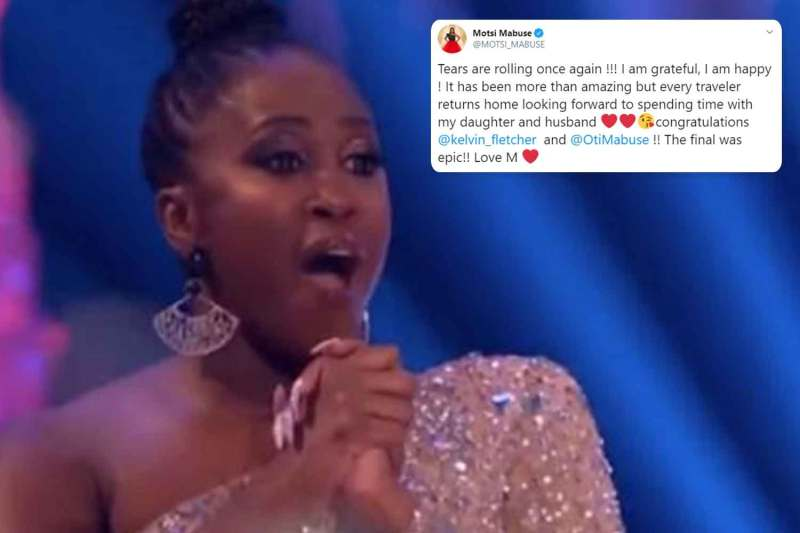 Motsi Mabuse in tears over Strictly ending as she returns to Germany for Christmas with her daughter and husband