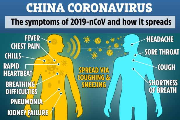 冠状病毒症状的图像结果