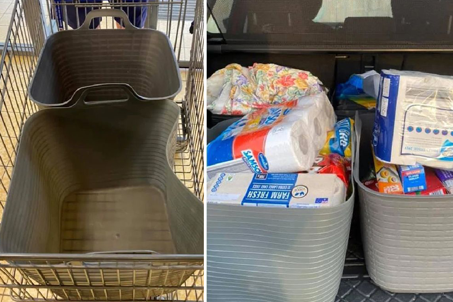 The Aldi shopper shares a clever trick that makes grocery packaging much easier - The Sun