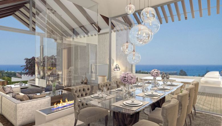 The house is in The Heights, a luxury development that boasts wonderful views of the Mediterranean