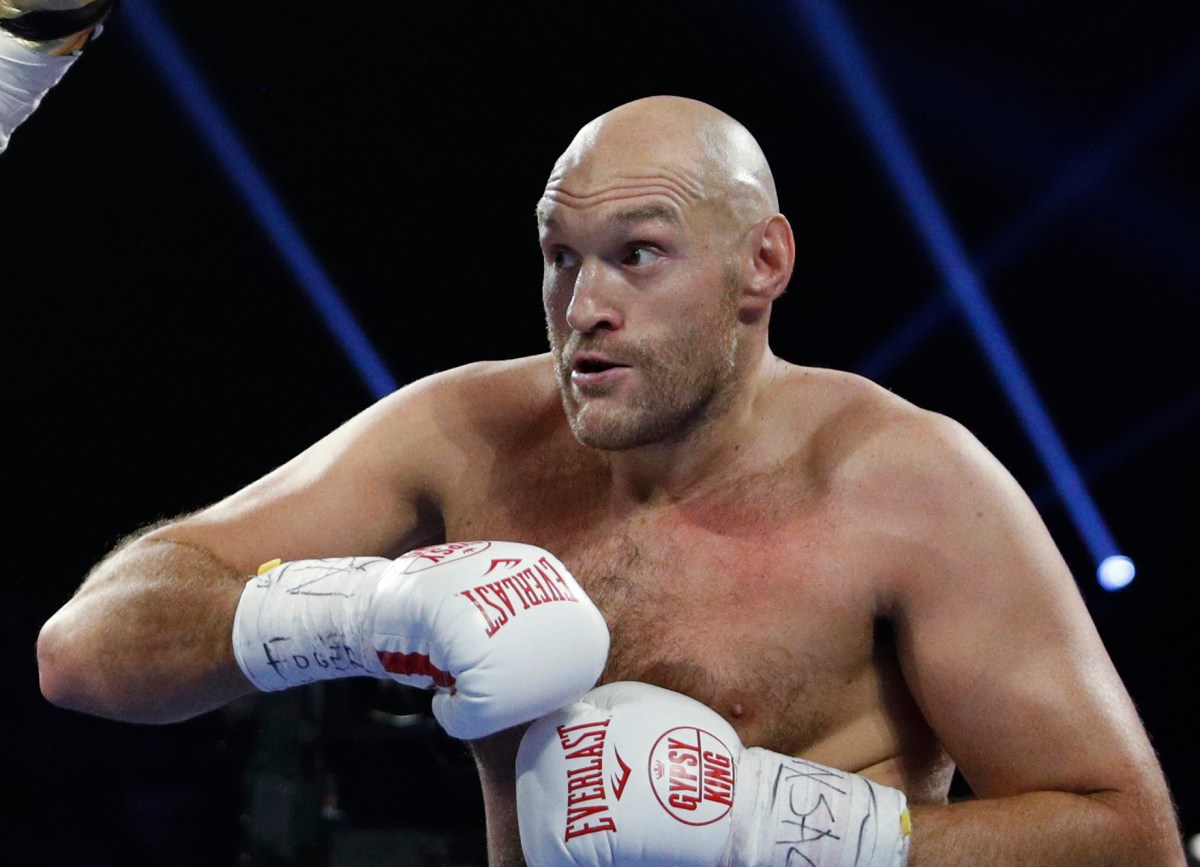 This week, Tyson Fury said he masturbates seven times a day to keep his testosterone pumping