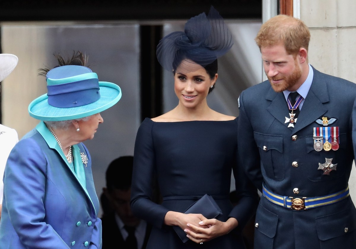 Meghan and Harry talked with the Queen this week about their future roles.