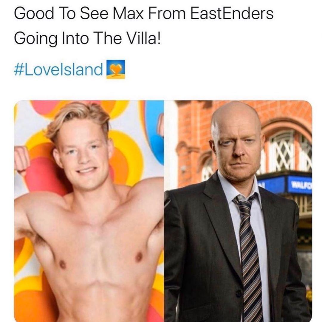 Eastenders Jake Wood Pokes Fun At Love Island Lookalike Ollie