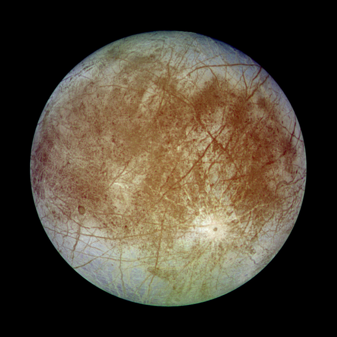 It's hoped Jupiter's moon Europa may contain sign of extraterrestrial life
