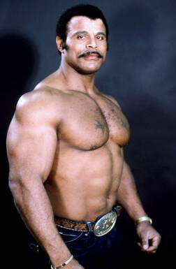 Rocky Johnson began his career in the mid-1960s and was a star fighter in his own right.