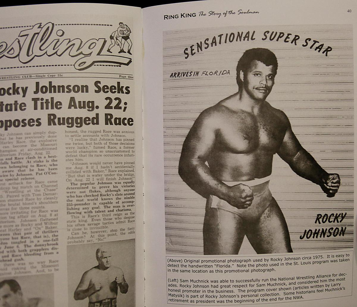 Rocky Johnson had a career in the Hall of Fame and with Teddy Atlas was part of the first black label team to win the WWF World Tag Team title