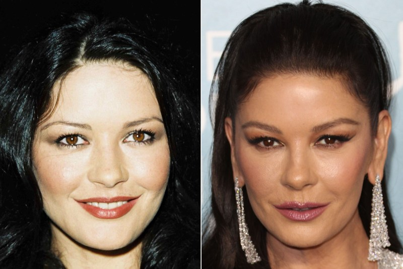 Last week, Catherine Zeta-Jones showed off her cat-like eyes when she appeared at the Screen Actors Guild Awards